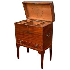 19th Century Hepplewhite Mahogany Cellarette