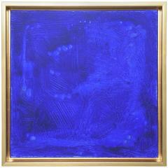 Original Francisco Franco Yves Klein Blue Study