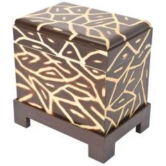 Karl Springer Kyoto Box/ Side Table