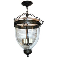 Blown Glass Lantern