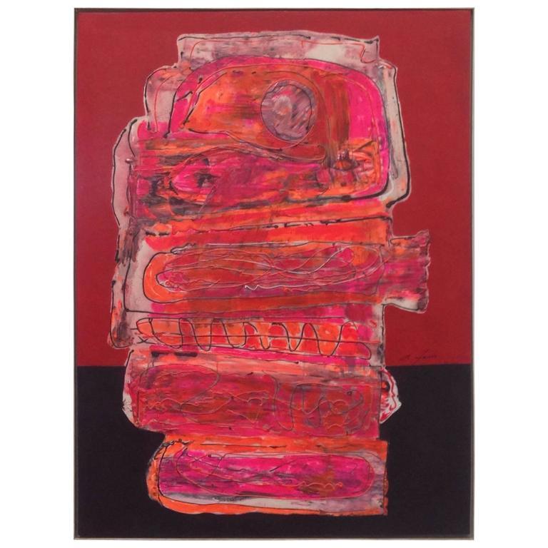 Abstract Painting by Antonio Ferri
