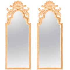 Pier Glass Mirrors in the Queen Anne manner