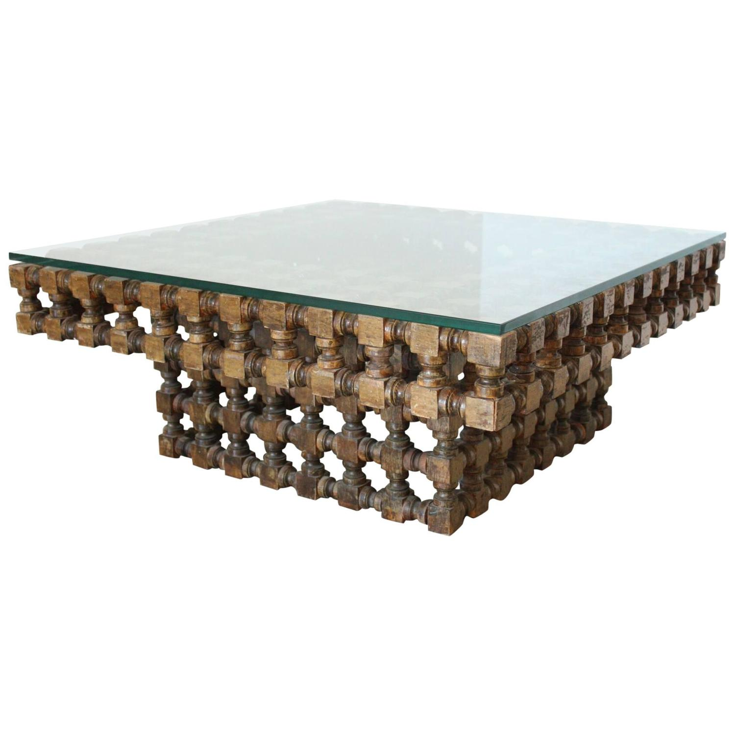 Moroccan Coffee Table 20th Century For Sale at 1stdibs
