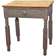 Gustavian Style Country End Table