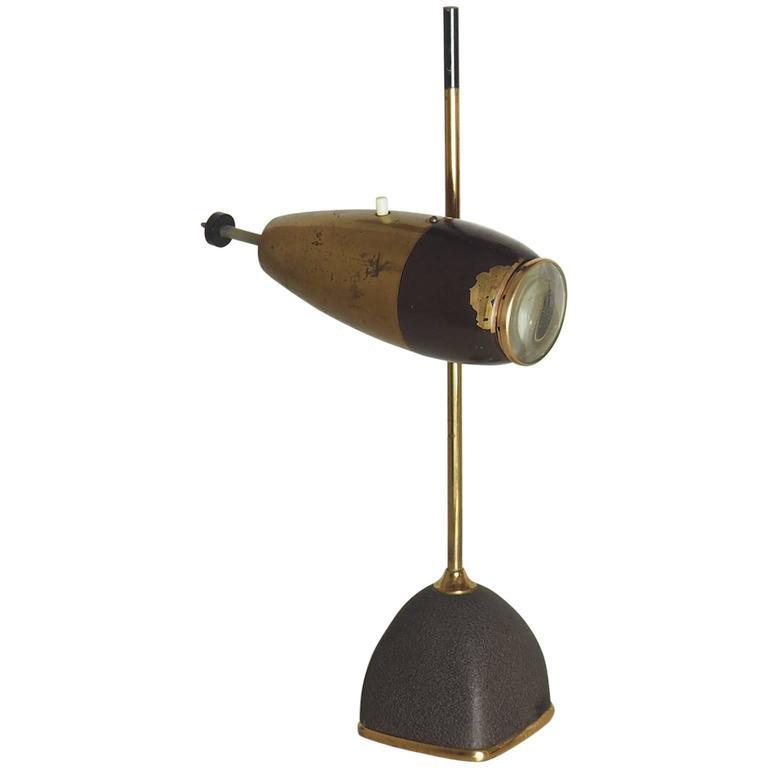 Italian Table Lamp by Oscar Torlasco for Lumi, Milano, 1950s