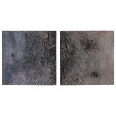 "Matteo Giampaglia ""Untitled"" Diptych"