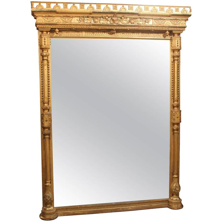 Gilt Mirror For Sale