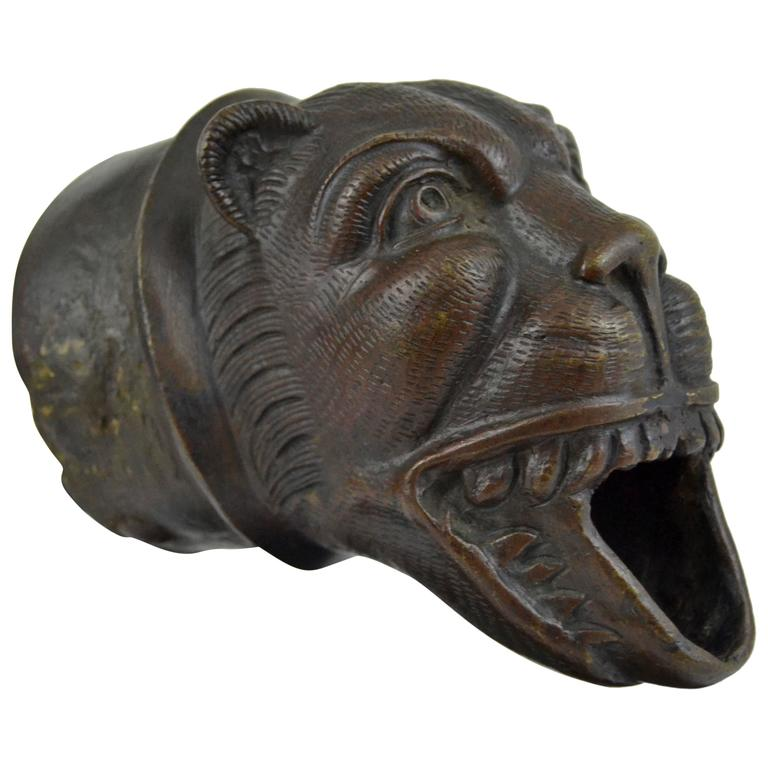 Medieval Bronze Lion Downspout At 1stdibs
