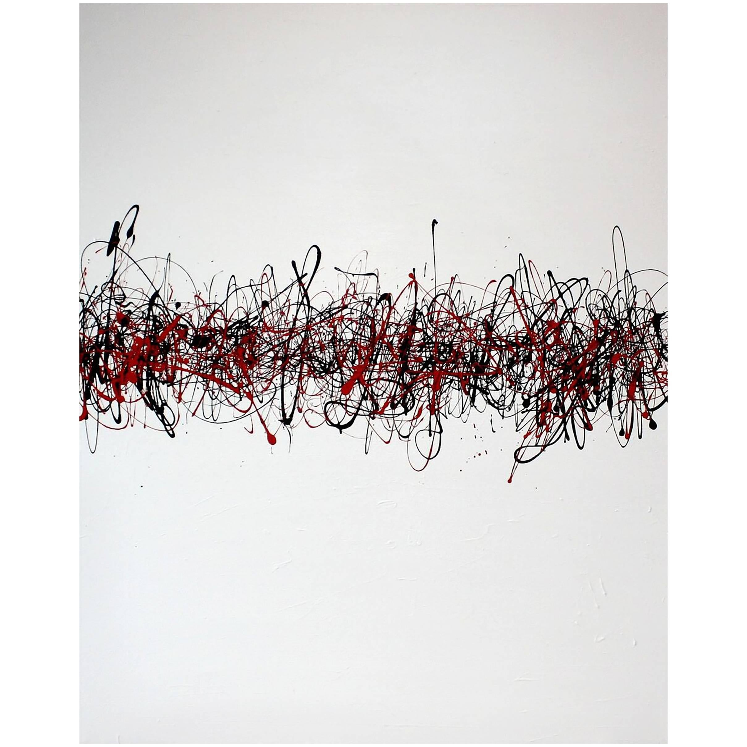 Contemporary Painting by American Artist Ethan Vallarino, 2013