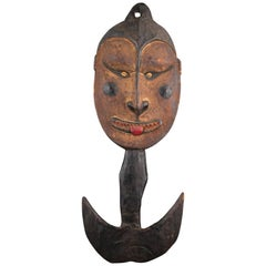 20th Century Tribal Papua New Guinea Suspension Hook