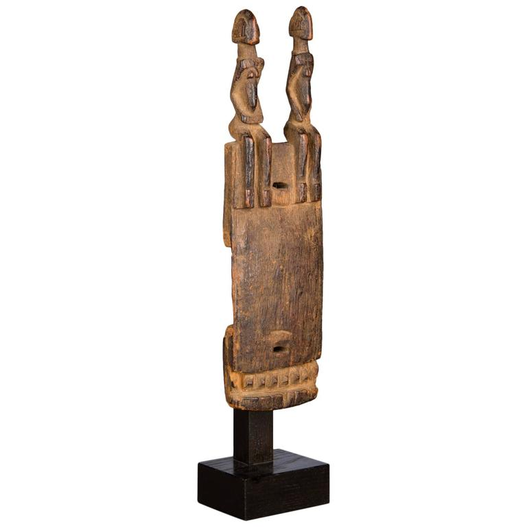 Late 19th Century Tribal Dogon Door Lock For Sale