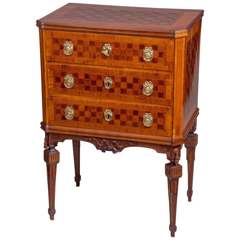small neoclassical commode austria circa 1780 for sale at 1stdibs. Black Bedroom Furniture Sets. Home Design Ideas