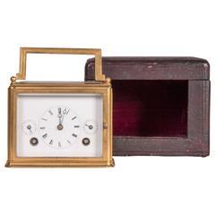 Carriage Clock with Original Case, Paris, circa 1850