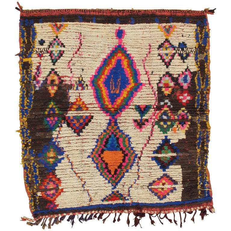 Vintage Moroccan Rug At 1stdibs