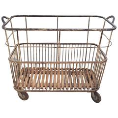 1930s French Baguette Trolley
