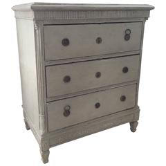 18th Century Period Swedish Painted Chest