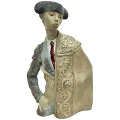 "Sculpture Lladro ""Torero"" Bullfighter"
