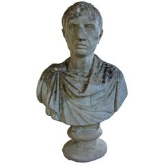 19th Century French Stone Bust