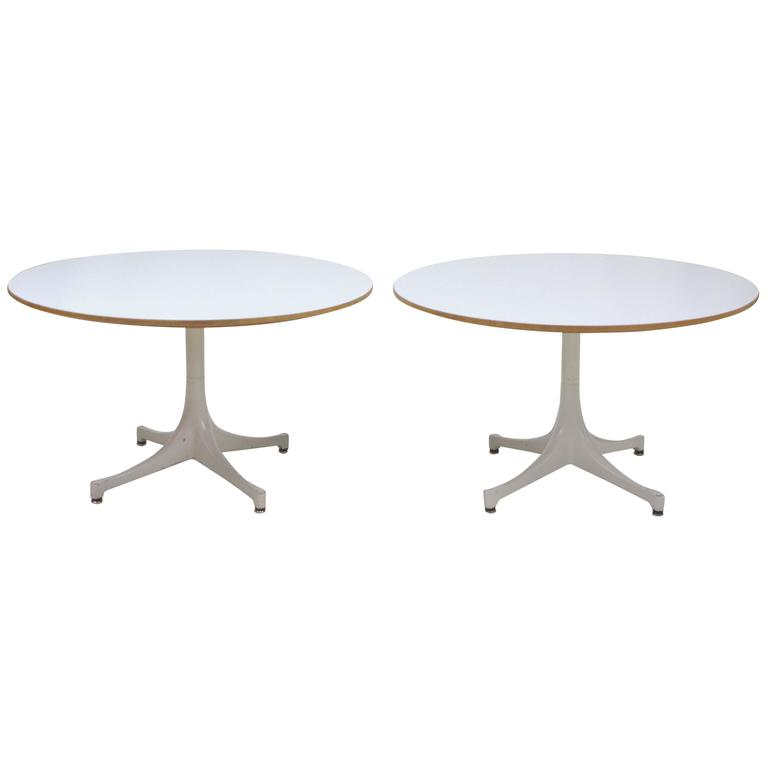 George Nelson Swag Leg End Tables, Pair for Herman Miller