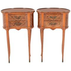Pair of French Nightstands Circa 1940