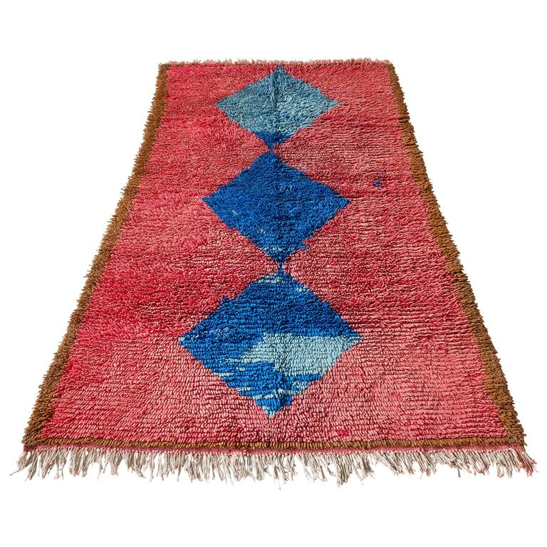 Moroccan Middle Atlas Rug At 1stdibs