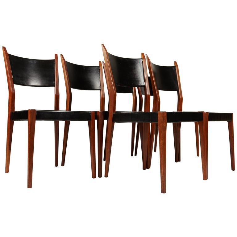 Six Paul McCobb Dining Chairs for Calvin, circa 1960s
