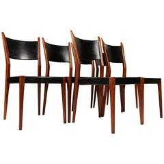 Six Paul McCobb Dining Chairs for Calvin, circa 1960s