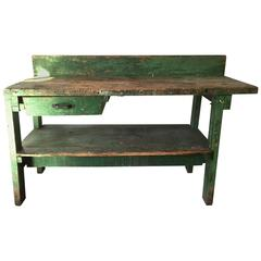 Large Work Bench, American, 19th Century