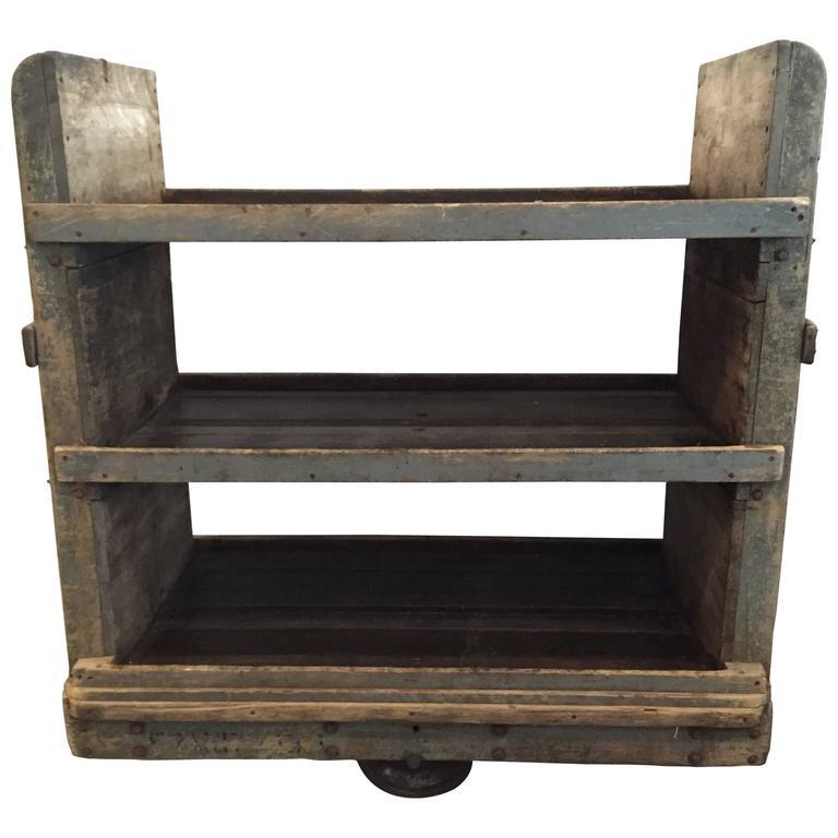 Vintage Work Cart