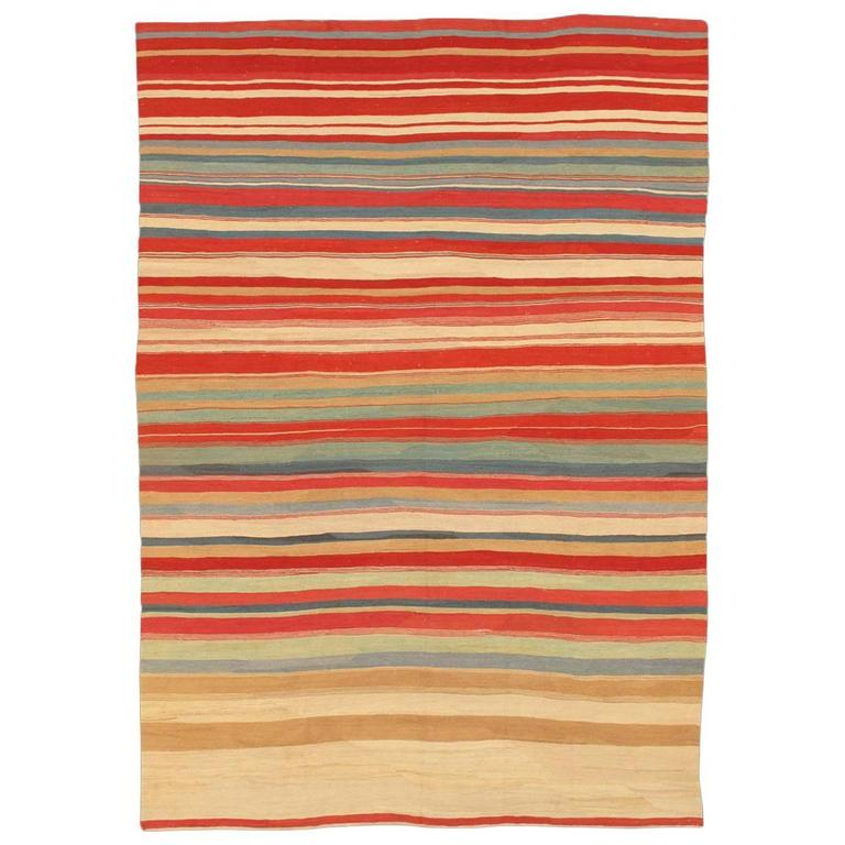 Lovely nice modern kilim rug for sale at 1stdibs for Nice rugs for sale