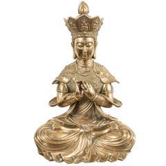 Bronze Buddhist Sculpture