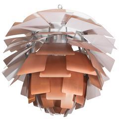 Poul Henningsen 'PH Artichoke Lamp' in Copper for Louis Poulsen