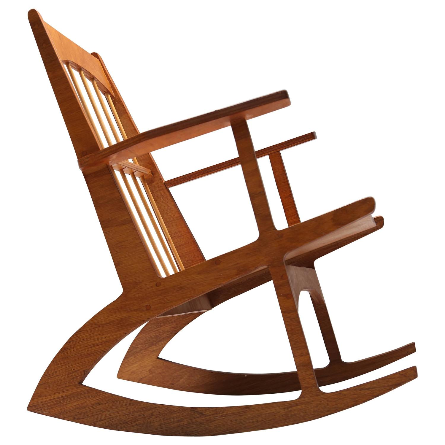 Rocking Chair circa 1960 For Sale at 1stdibs