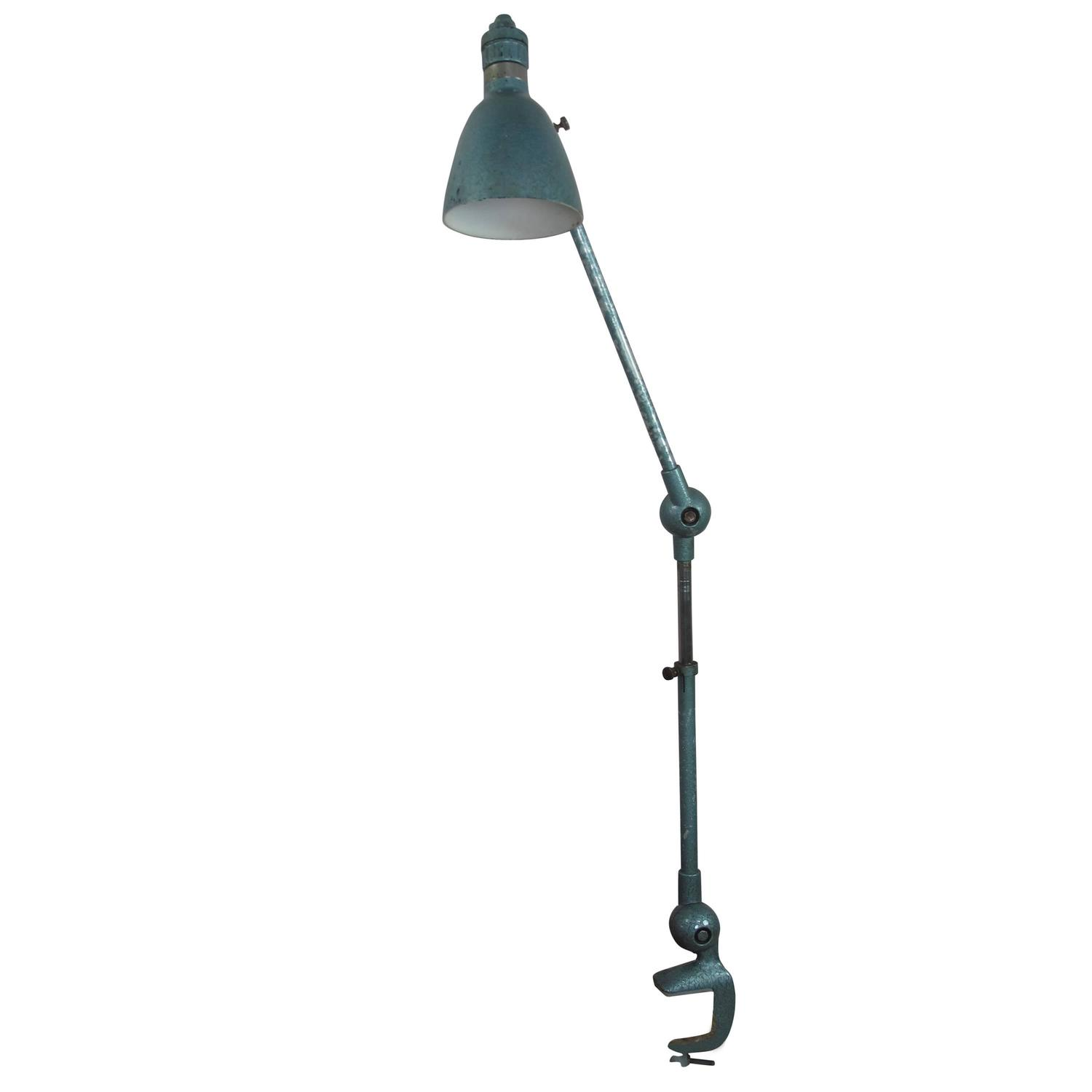 Vintage Industrial Task Light By Lumina For Sale At 1stdibs