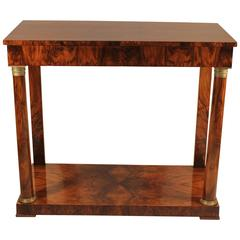 19th Century Empire Console Table