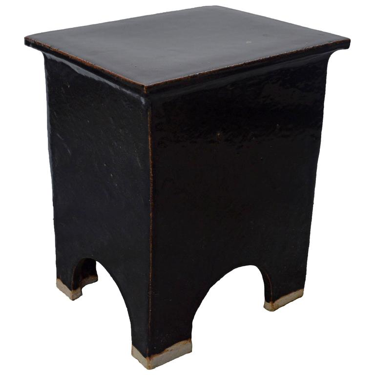 """Artisan Series Stool and Side Table """"Oscuro"""""""