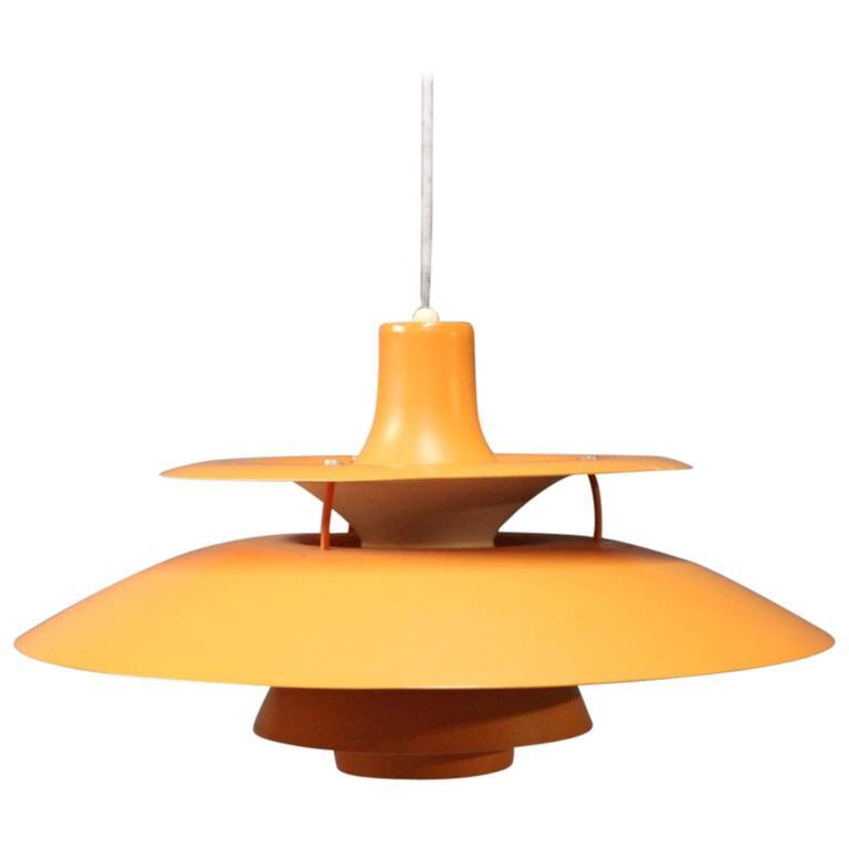 poul henningsen ph5 pendant manufactured at louis poulsen 1958 at 1stdibs. Black Bedroom Furniture Sets. Home Design Ideas