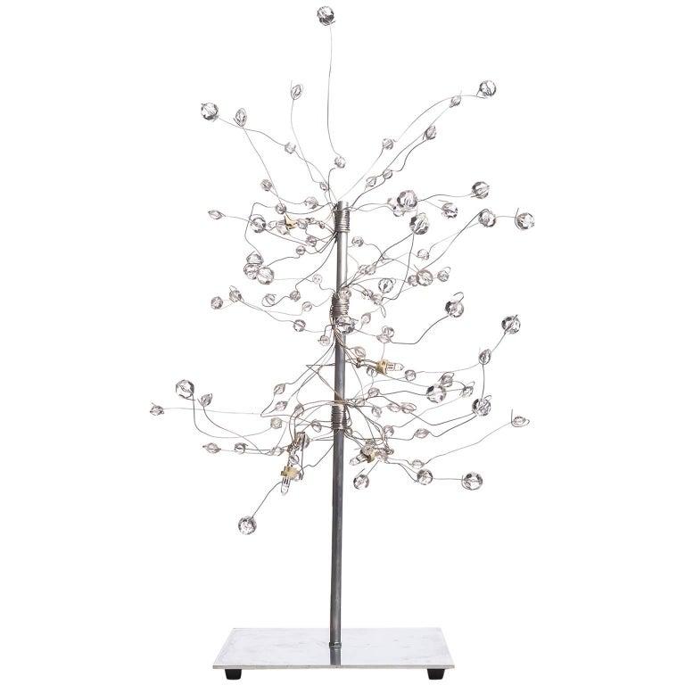 Modern Led Table Lamp by Artist Salih Mehchi For Sale