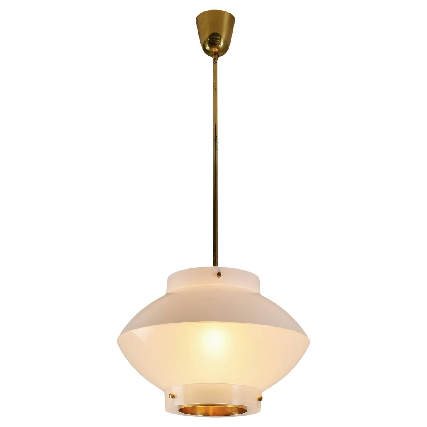 dome lighting brass marlowe large pendant