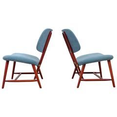 """Te-Ve"" Easy Chairs by Alf Svensson, 1950s"