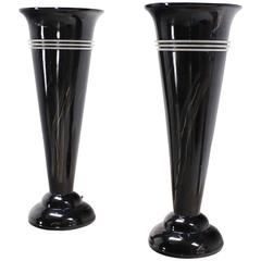 Pair of Tall Urn Shape Lamps