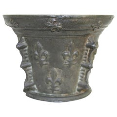 French Bronze Mortar, Early 17th Century
