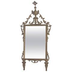 Italian Neoclassical Giltwood Mirror, 18th Century