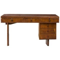 Jacaranda Desk by Joaquim Tenreiro, Brazil, 1950s