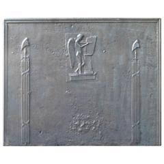 18th Century Pillars and Phrygian Cap Fireback