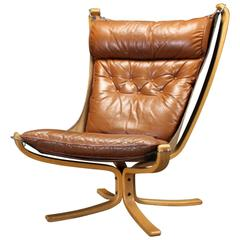 Sigurd Ressell High Back Falcon Chair