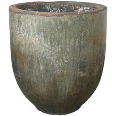 Large-Scale Glazed Foundry Crucible