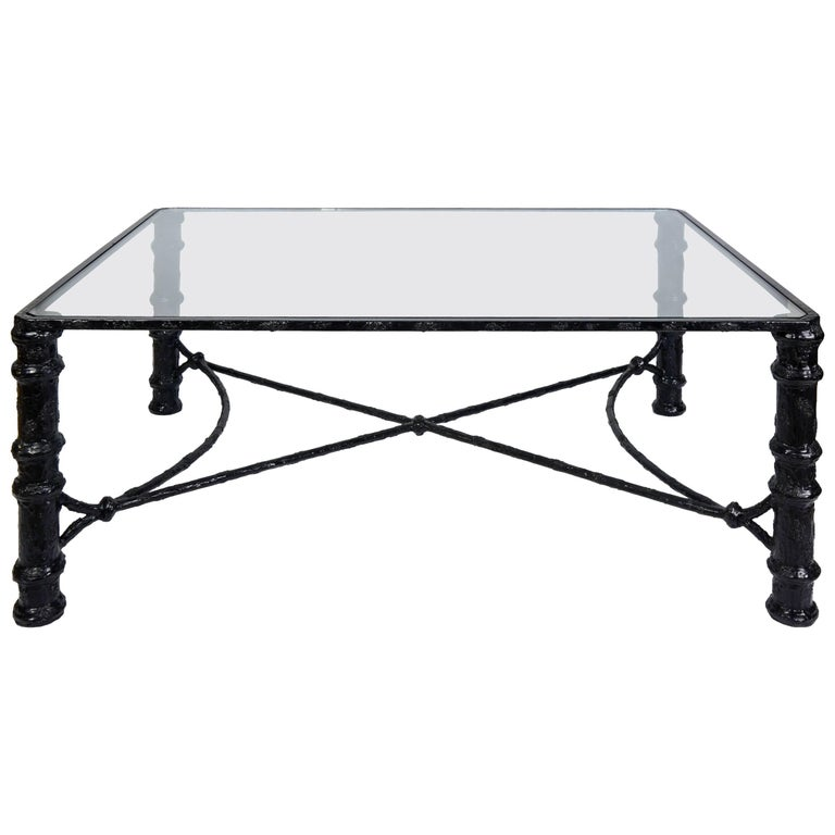Beautiful Diego Giacometti Style Coffee Table, circa 1950