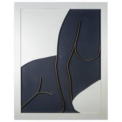 """Silhouette"" Oil on Canvas, Signed Dario Mardegan"