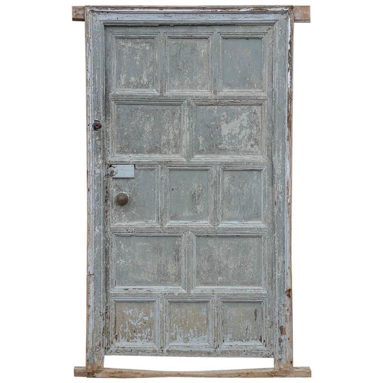 Spanish 18th Century Door Scraped to Original Paint